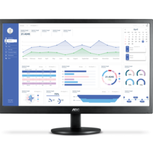 MONITOR 18,5″ AOC WIDESCREEN LED VGA + HDMI